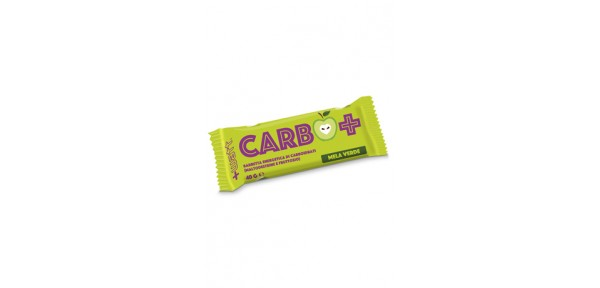Barretta energetica di carboidrati (maltodestrine e fruttosio) GUSTO MELA VERDE