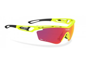 Occhiali da bici Rudy Project Tralyx Yellow Fluo Gloss Rp Optics Multilaser Orange