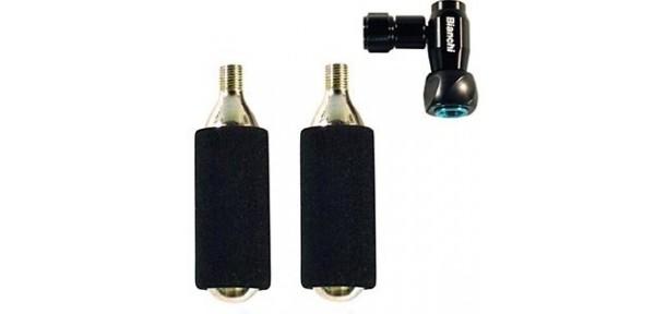 Pompa Bianchi CO2 completa di due cartucce 16gr CO2