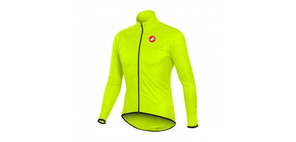 Castelli Squadra long Jacket - Windproof and waterproof jacket for bike
