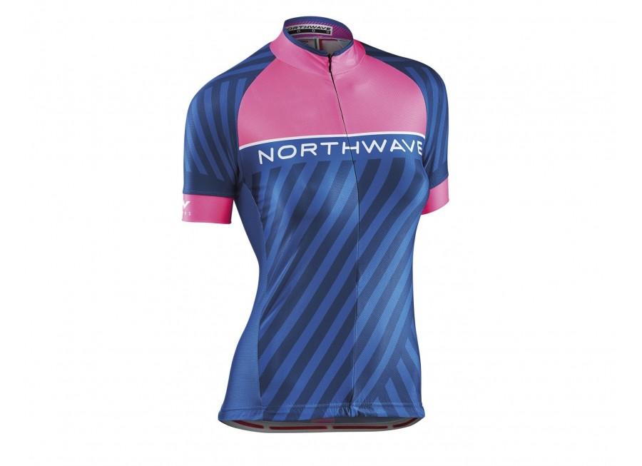 Northwave Logo Woman 3 jersey short sleeves - Bike Jersey for woman