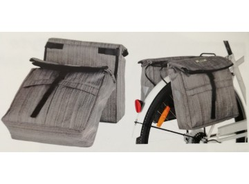 Back carriage bags Byte Style Canvass - Back carriage bags for bike