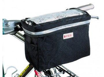 Front bag with map-holder Barbieri - Bag for bike