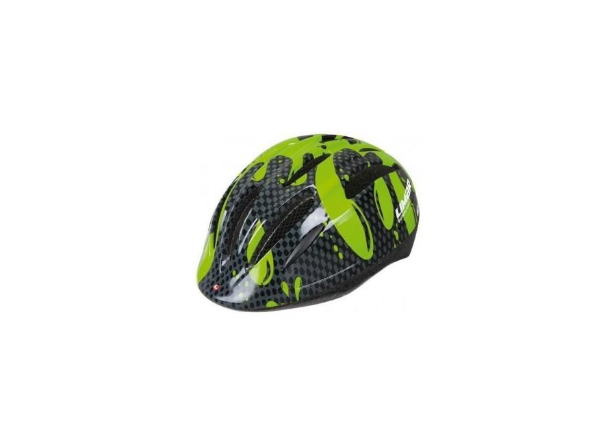 Limar 124 Green Splash - Casco da bici da bambino