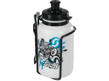 Water bottle + Bottle Cage Kit for kids for bike