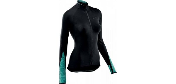 Northwave Allure Jersey Long Sleeves - Woman winter jersey for bike