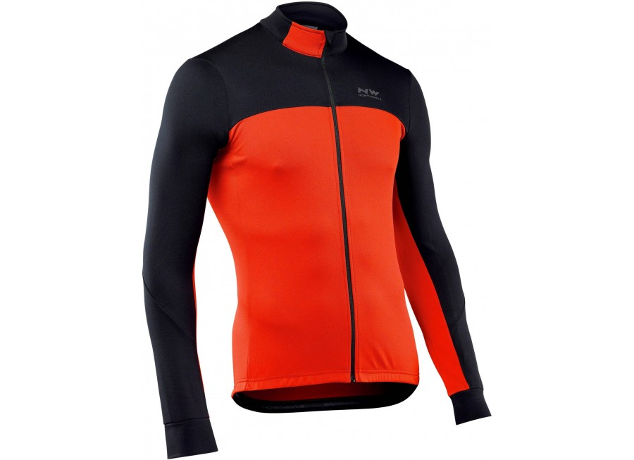 Northwave FORCE 2 Jersey long sleeves - Winter jersey for bike