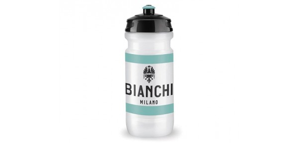 Bianchi Milano - Water bottle for bike in Polyetilene Squeezable white for food use