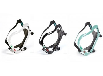 Bianchi Performance Carbon - Bottle cage for bike in carbon 3k unidirectional monococque