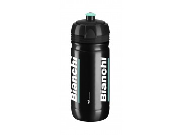 Bianchi Corsa Bio 600ml - Water bottle for bike in Polyetilene Squeezable white for food use 100% recycl