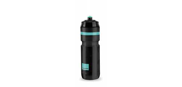Bianchi Loli 800ml - Water bottle for bike in Polyetilene Squeezable white for food use 100% recycl