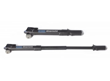 Bianchi Sport mini-pump telescopic - Mini-pump for bike with thumblock