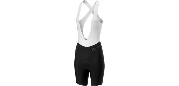 Castelli Vista Bibshort - Pantaloncini da bici da donna con bretelle