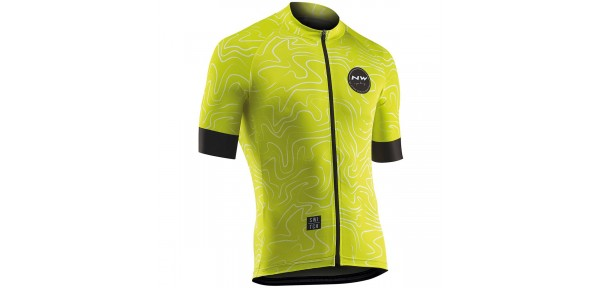 Northwave Lemonade Jersey - Maglietta da bici a manica corta