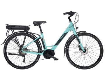 Bianchi Long Island 28 Lady Altus 9sp - City bike elettrica da donna