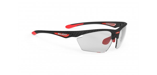 Occhiali Rudy Project Stratofly White carbon Rp Optics Photoclear