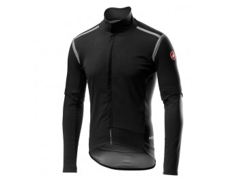 Castelli Perfetto Ros Convertible Jacket - Removable-sleeve windproof and waterproof jacket for bike