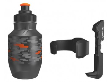Syncros Kids Bottle - Water bottle with left or right mountable cage for kids bike