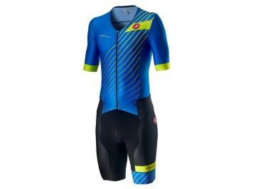 Castelli Free Sanremo 2 Suit Short Sleeve - Body da bici a manica corta