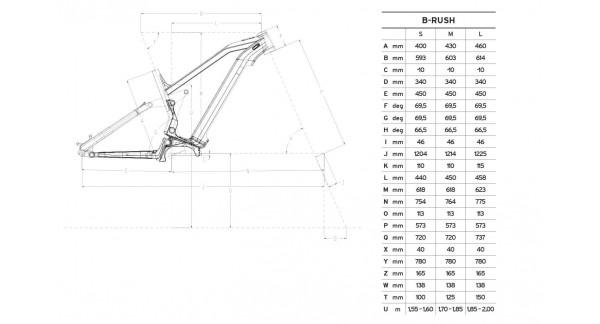 Whistle B-Rush All S 12v - All Mountain E bike