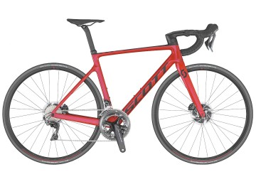 Scott Addict RC 10 Red 2020 - Road bike