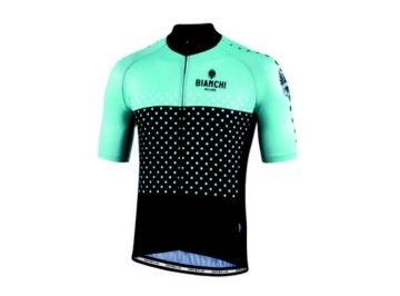 Bianchi Milano Quirra - Raglan light weight jersey for bike
