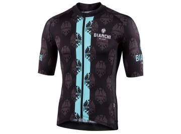 Bianchi Milano Roncaccio - Raglan light weight jersey for bike