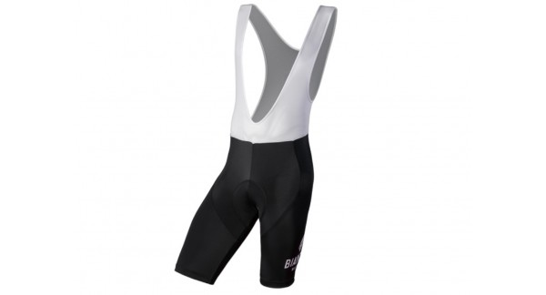Bianchi Milano Legend - Bib short with braces in breathable mesh for bike