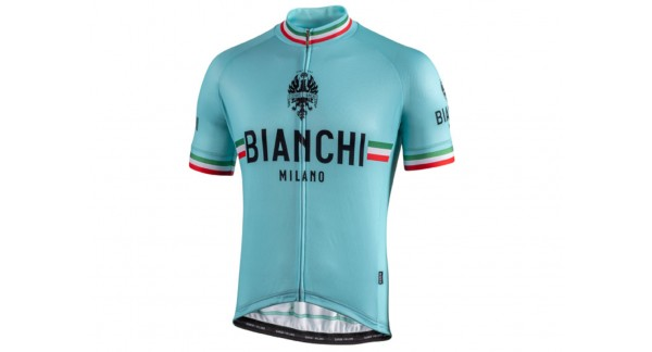 Bianchi Milano Isalle - Raglan Light-weight jersey with quick drying treatment for bike