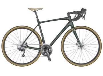 Scott Addict 10 Disc Green 2020 - Road bike