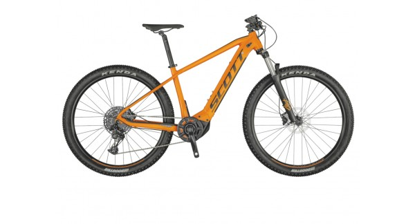 Scott Aspect eRide 920 orange 2021 - Electric mountain bike