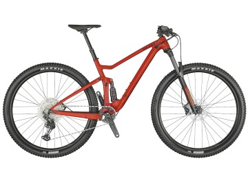 Scott Spark 960 red 2021 - Full suspended mountain Bike